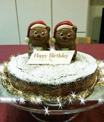 ガトーショコラ・バースデーケーキ
