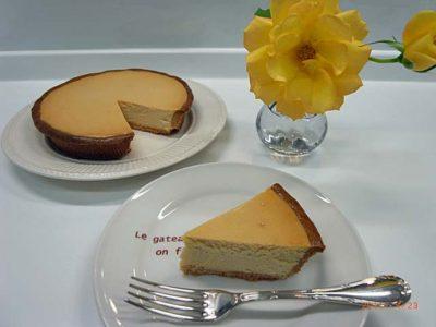 阿川さんのチーズケーキ