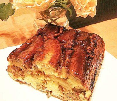 バナナのケーキ2